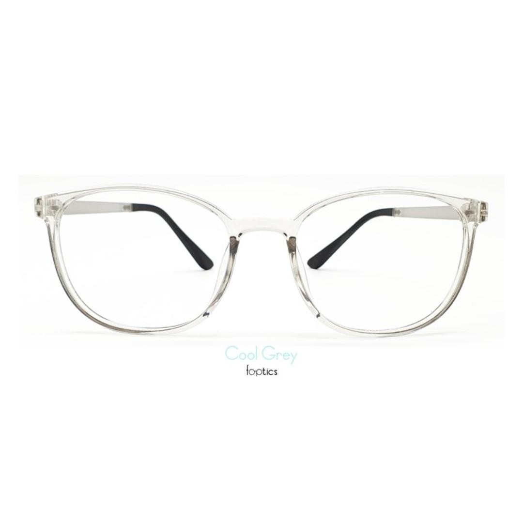 Eagle 2 in Cool Grey - foptics Eyewear - Prescription Glasses Singapore