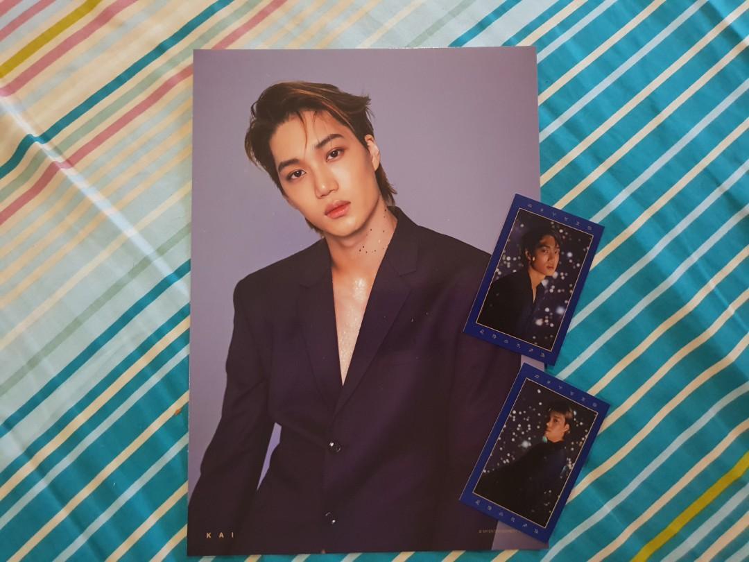 EXO Season's Greeting - Kai A4 Poster & Tarot Cards