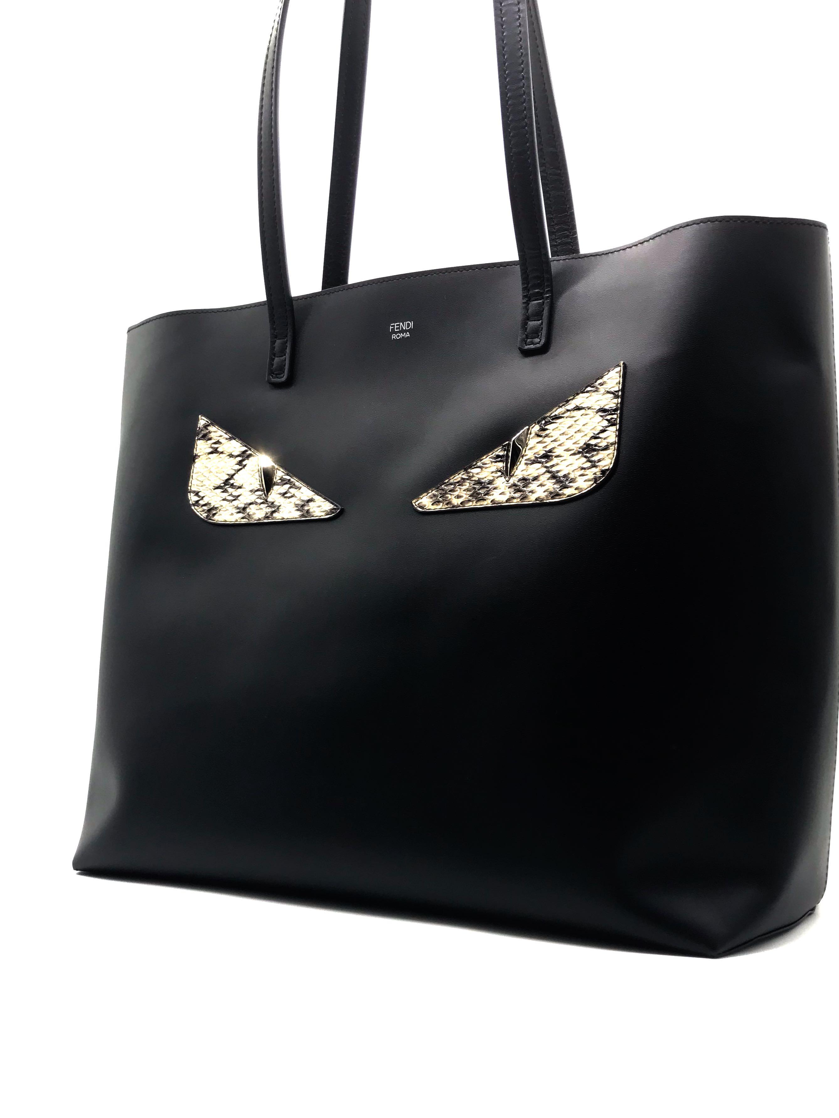 16172f09 Fendi Bag Bugs Shopping Tote