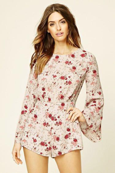 Floral Jumpsuit from Forever 21