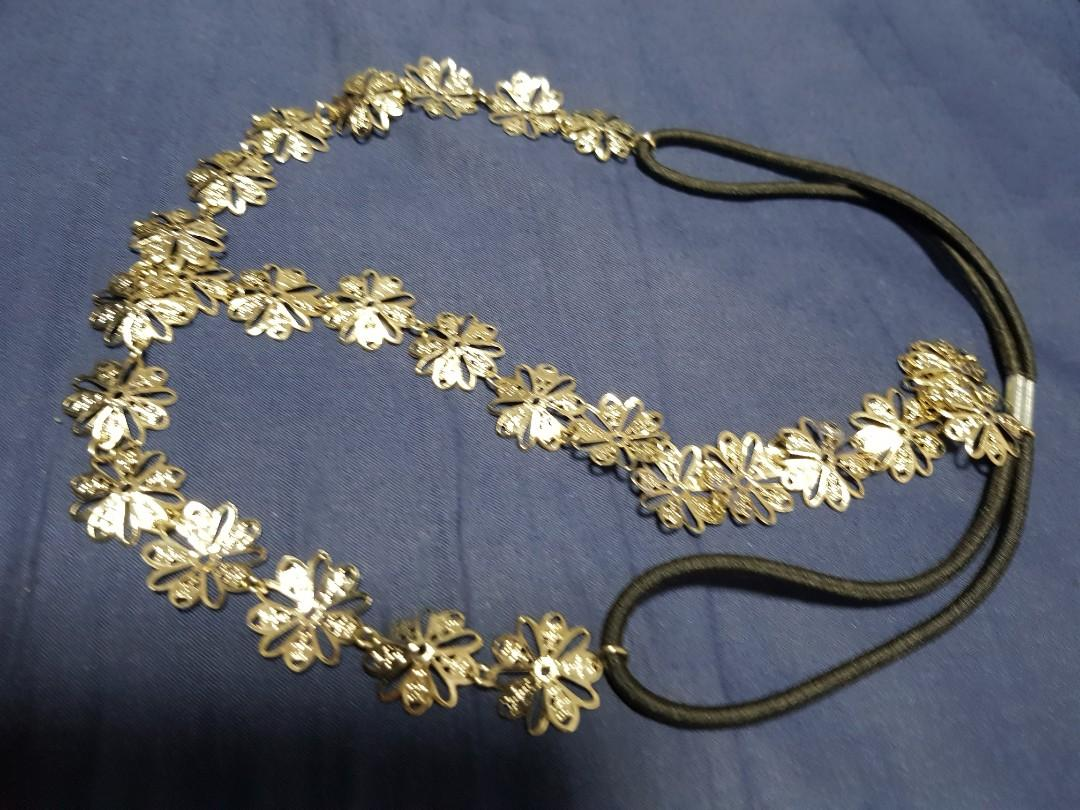 Floral Metal Hair Band