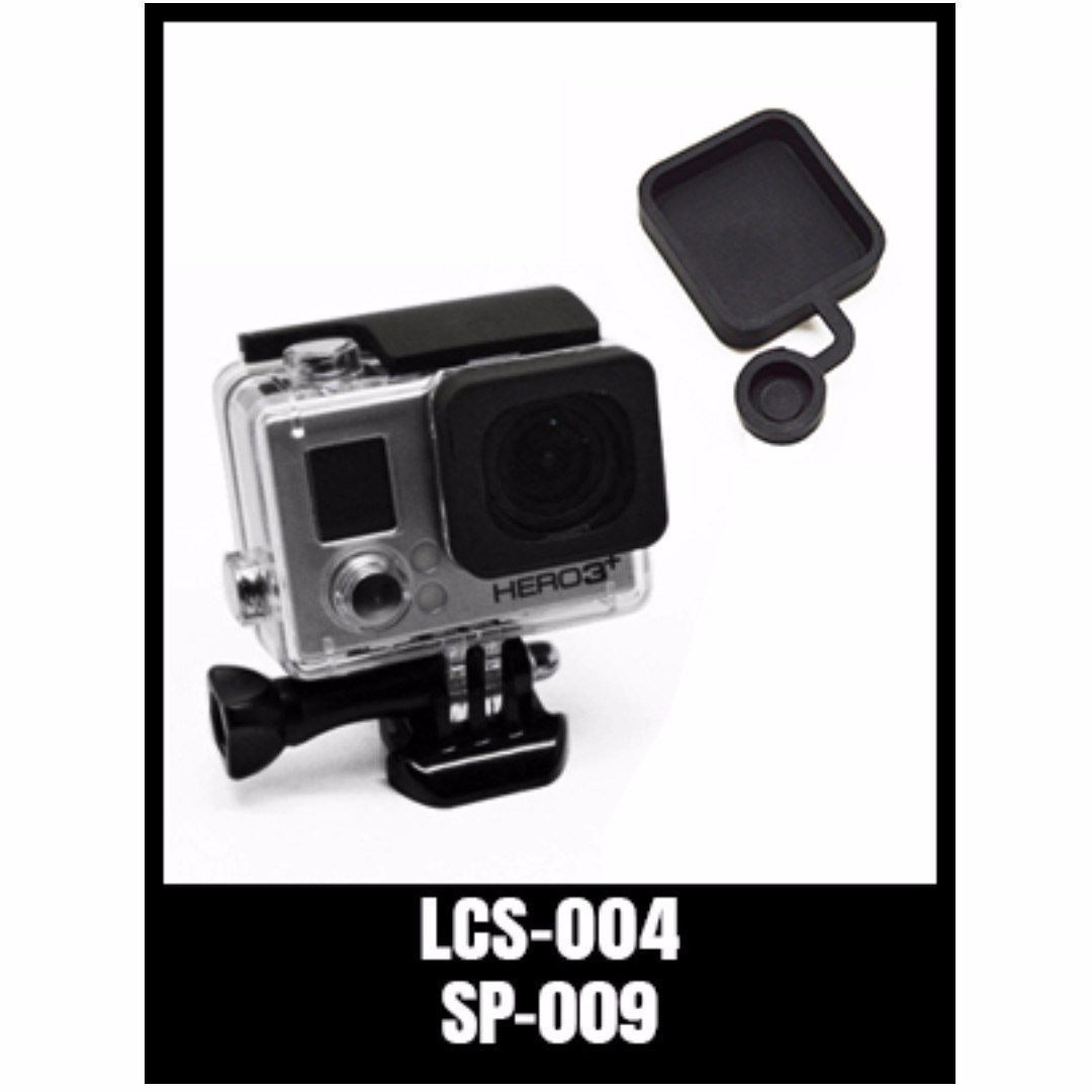 ce1545825 GOPRO HERO SILICONE PROTECTIVE LENS CAP LCS-004 BLACK, Photography ...