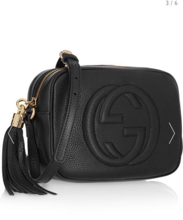 9c8e8aeec5f8 Gucci Soho Disco Bag-Black( reduced to $900), Women's Fashion, Bags ...