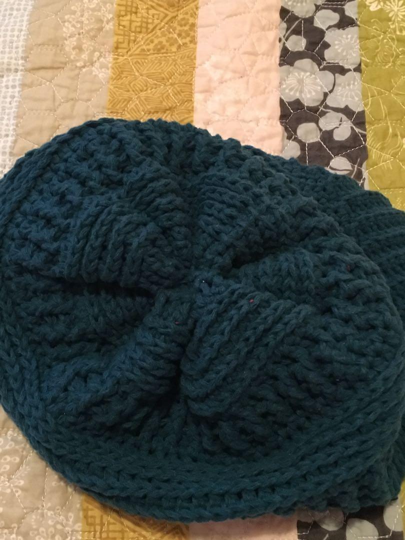 Handcrafted crochet hat