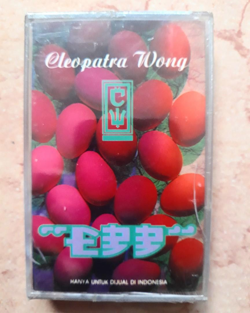 Kaset Pita Cleopatra Wong - Egg 📼 New/Sealed