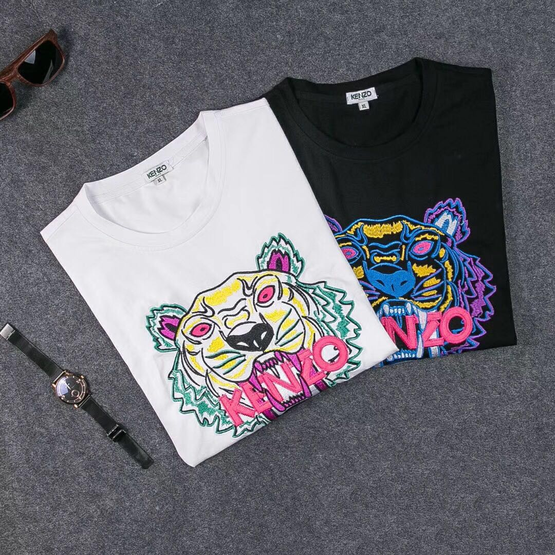 961df6aec3ee Kenzo Embroidered Tee, Men's Fashion, Clothes, Tops on Carousell