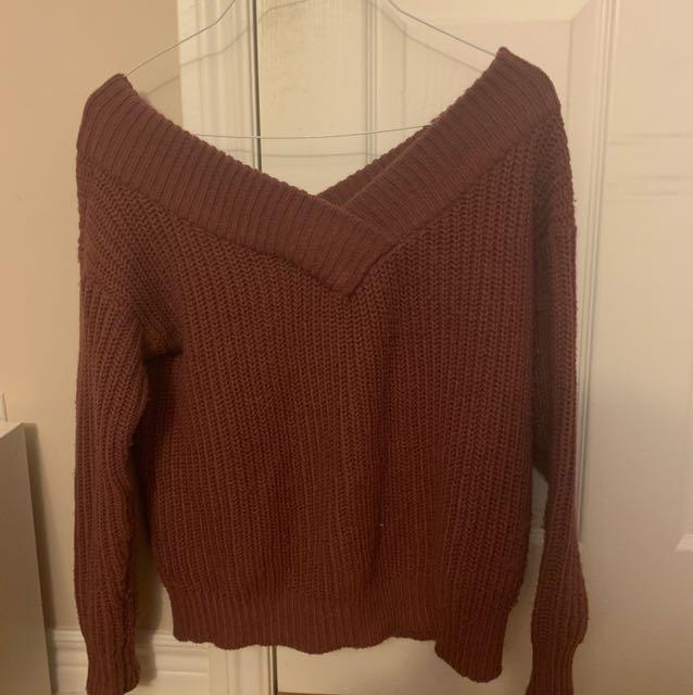 M boutique off shoulder sweater
