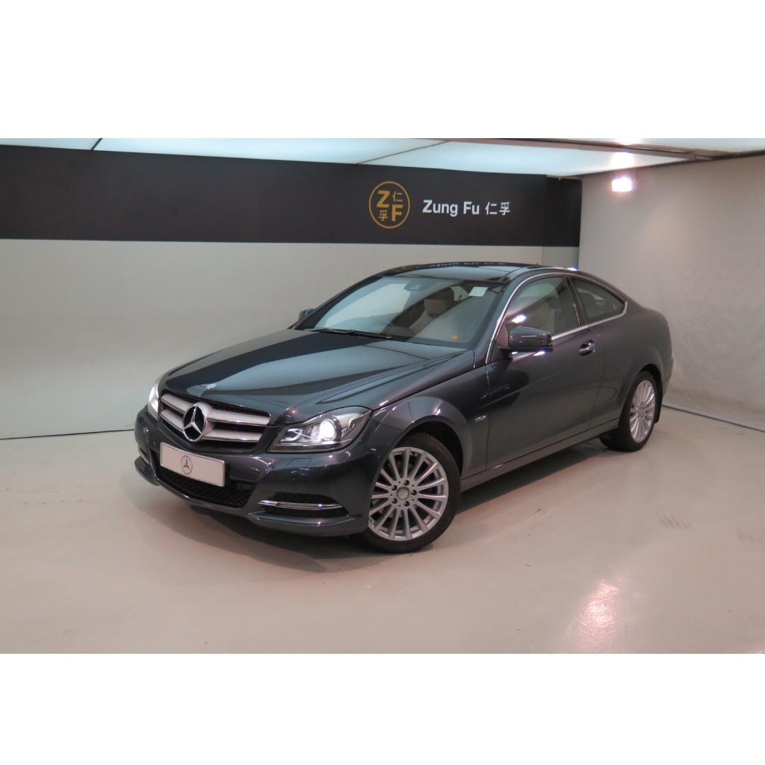 MERCEDES-BENZ C250 BE Coupe 2011/12'