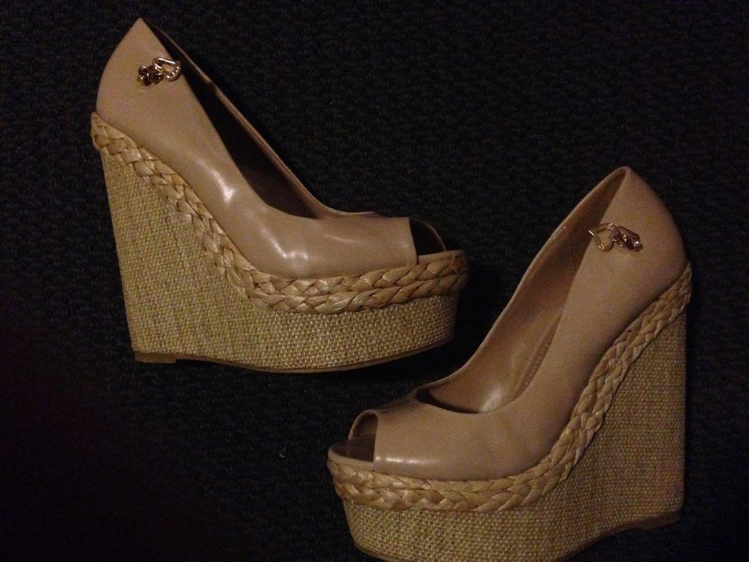 Migato high wedges shoes