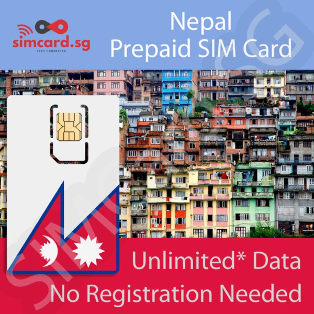 Nepal Prepaid Data SIM Card