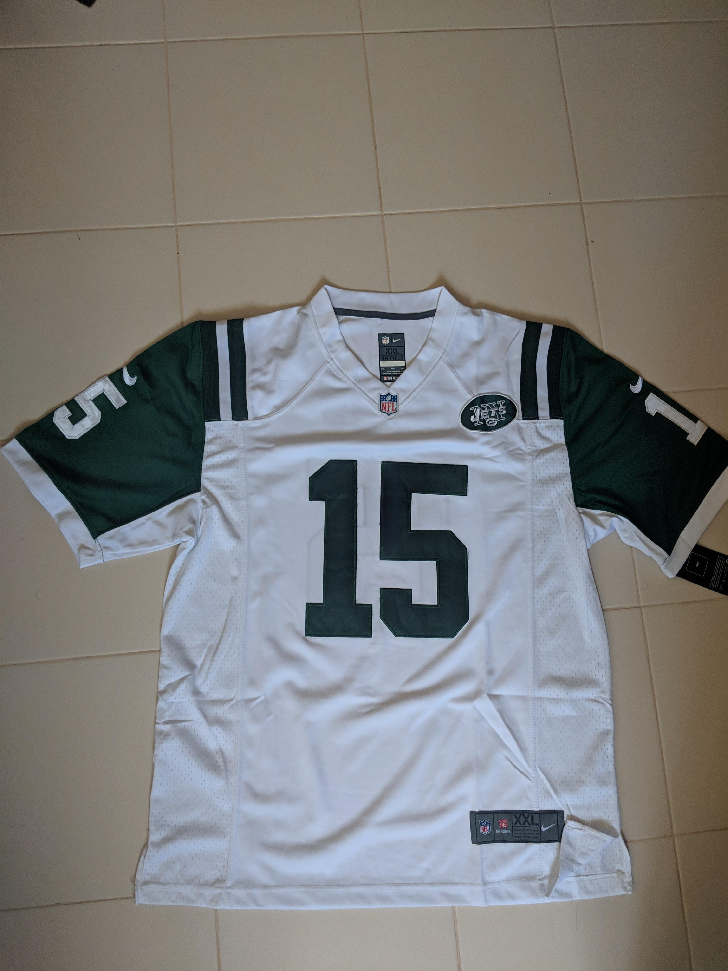 quality design ed118 dd2d5 NFL NY Jets Jersey, Men's Fashion, Clothes, Tops on Carousell