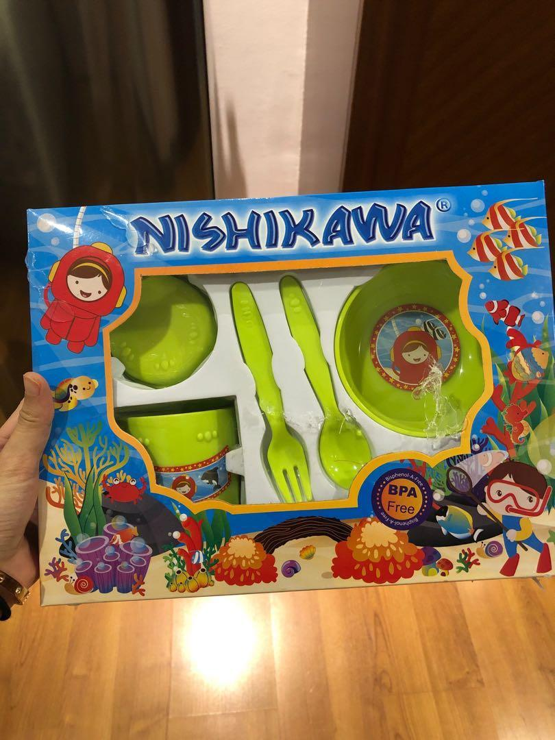 Nishikawa tempat makan / piring bayi