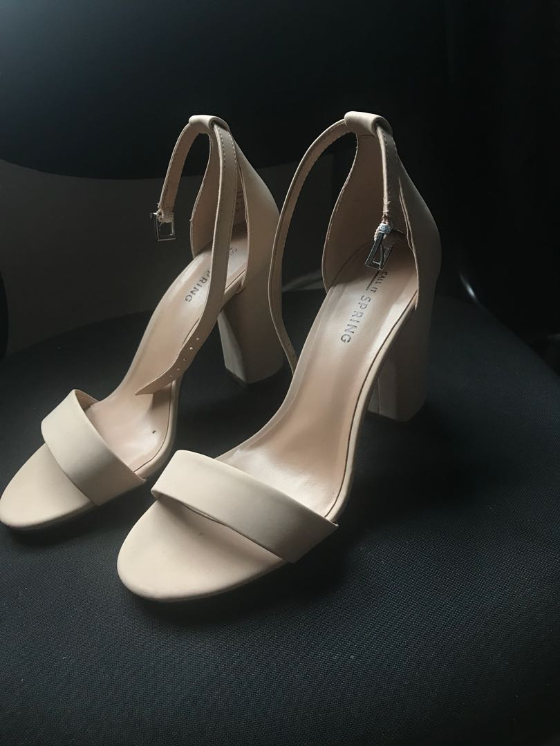 9fdd5f5ced9 Nude high heels (from call it spring)