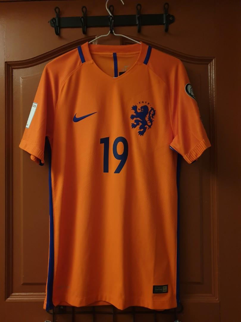 sale retailer 77d4d 268b0 Official Authentic Nike Player Issue Netherlands World Cup ...
