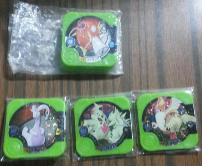 Pokemon Tretta 3 stars and Magikarp Set