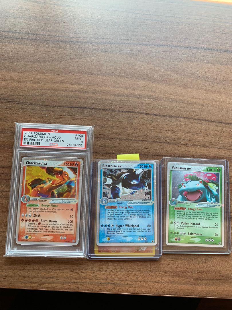 Pokémon trio starters