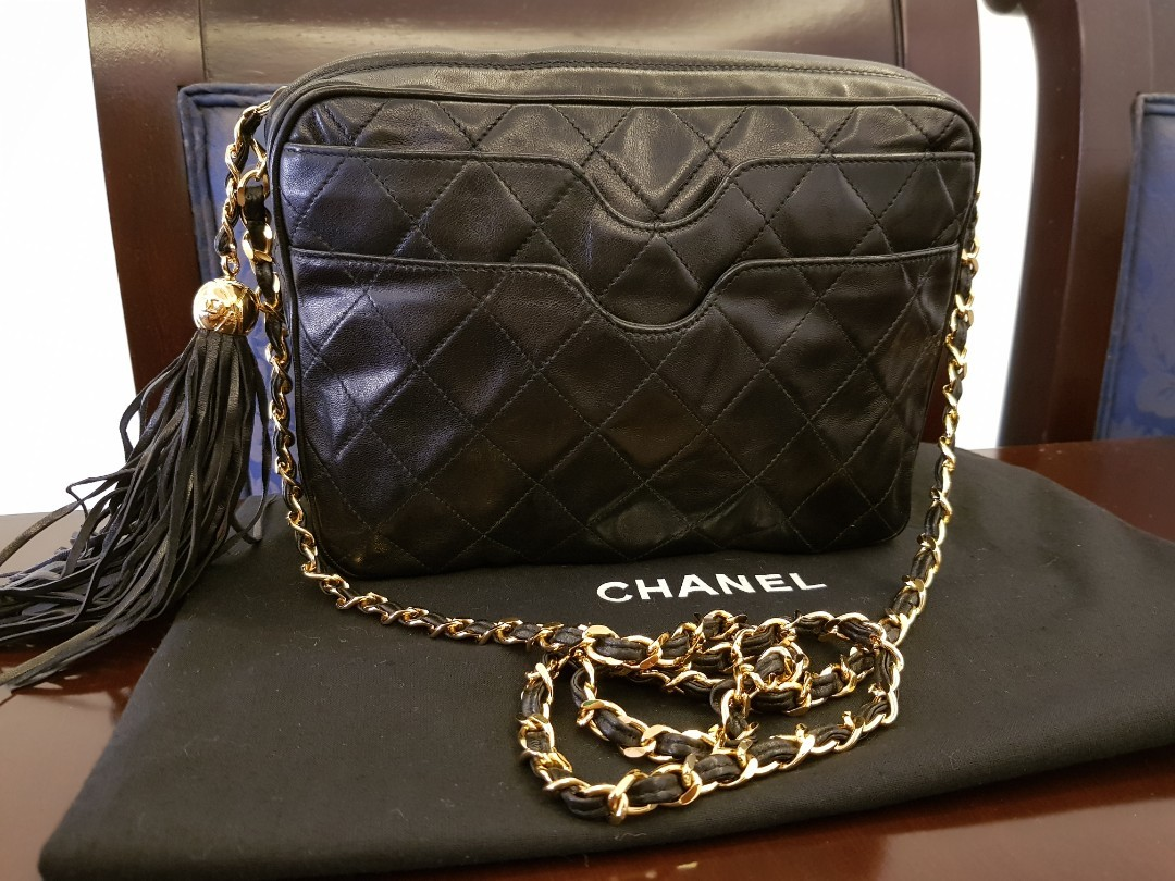 b1bf9e9dd7dd PRICE REDUCED!Authentic Chanel Vintage Camera Bag, Luxury, Bags ...