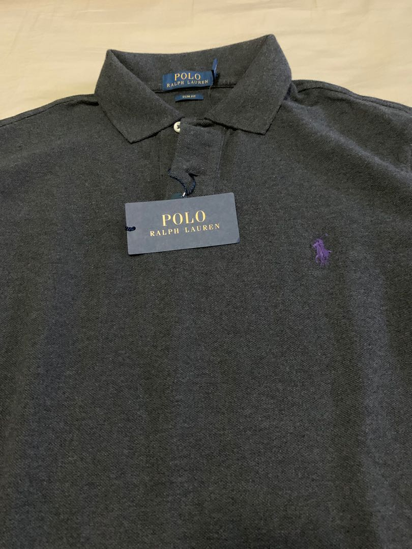 ae63e2d3aaf384 Ralph Lauren Polo Shirt slim fit Medium brand new with tags, Men's Fashion,  Clothes, Tops on Carousell