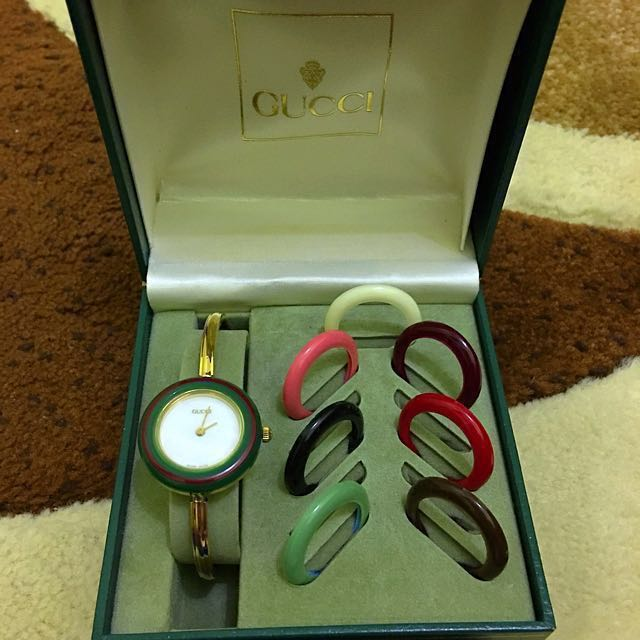 9d34b72a4d4 Re priced !!! Authentic Gucci Watch