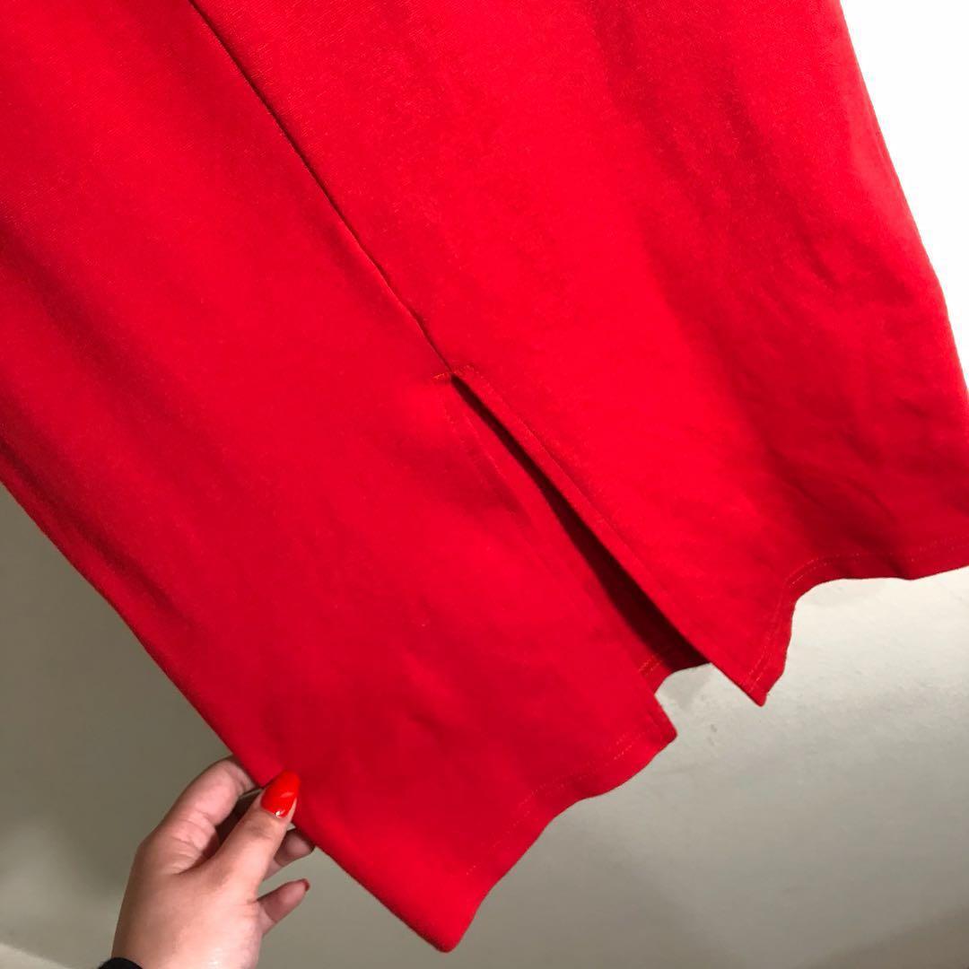 Red Pencil Dress