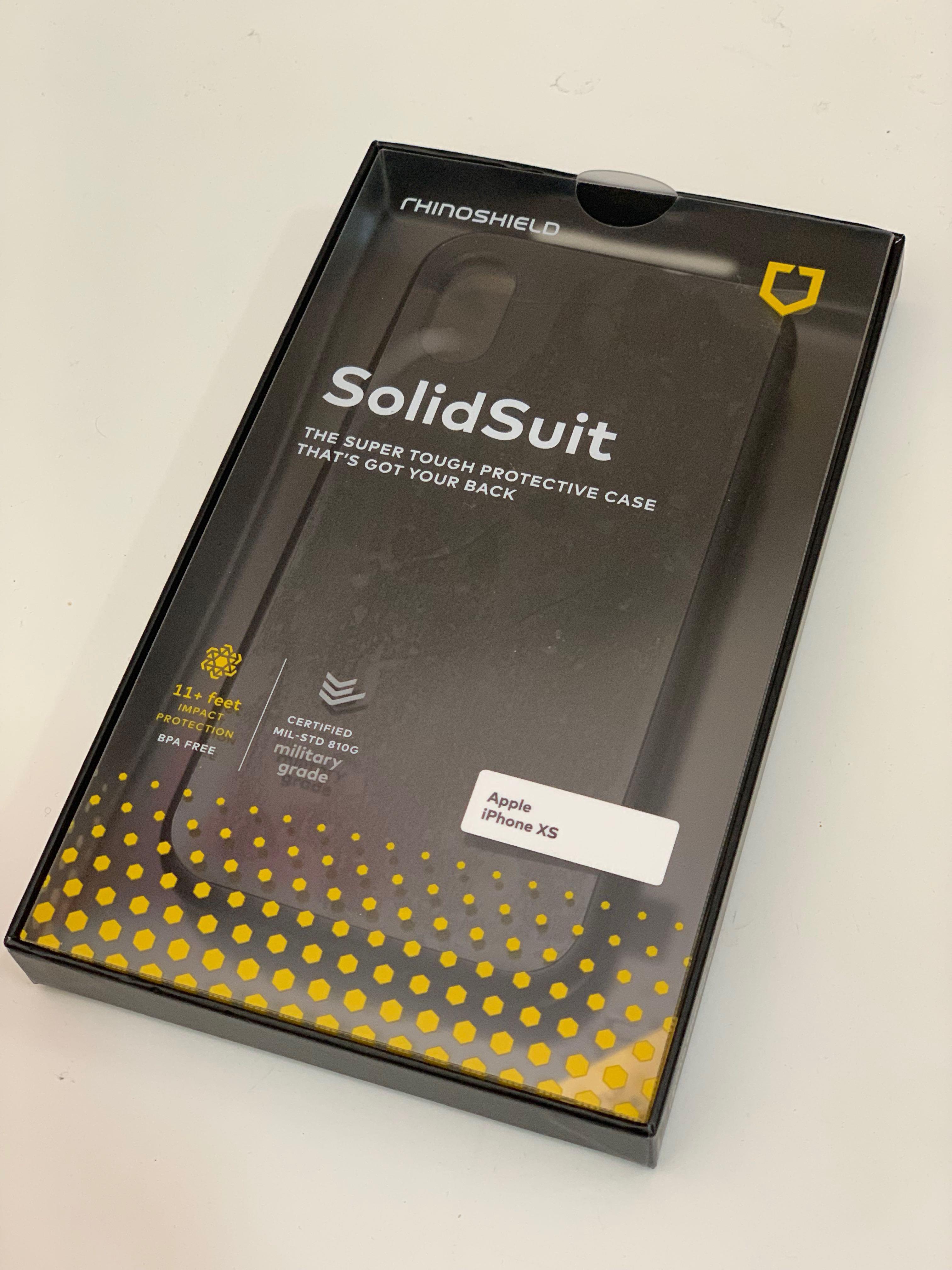 new styles f3489 0369e Rhinoshield - Solid suit (classic Black)