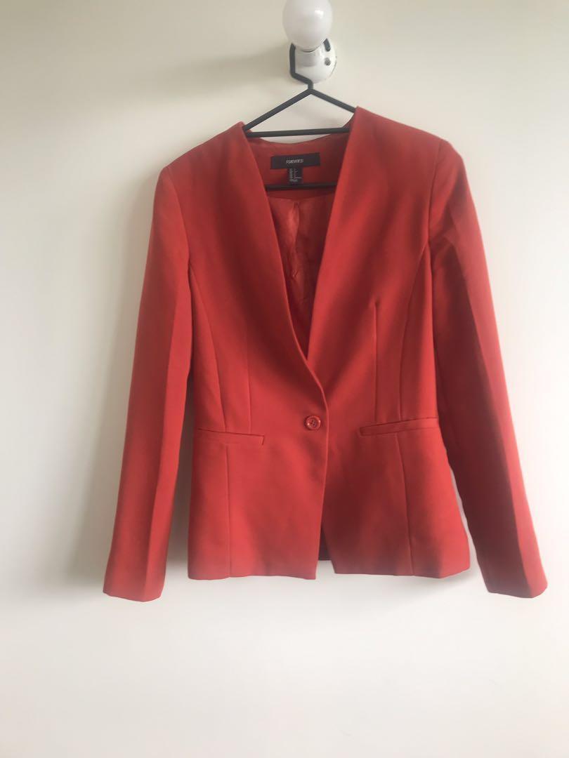 Rusted orange jacket/ coat