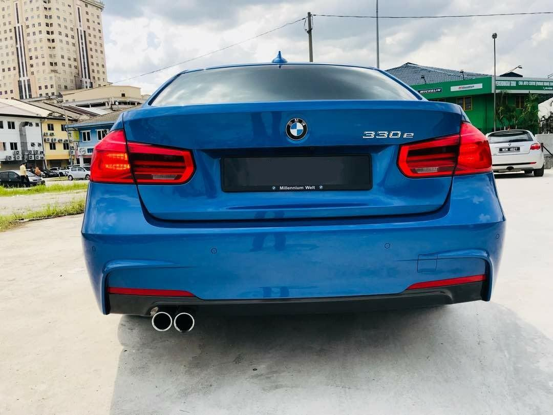 SEWA BELI>>BMW F30 330E M-SPORT HYBRID TWIN POWER TURBO 2017