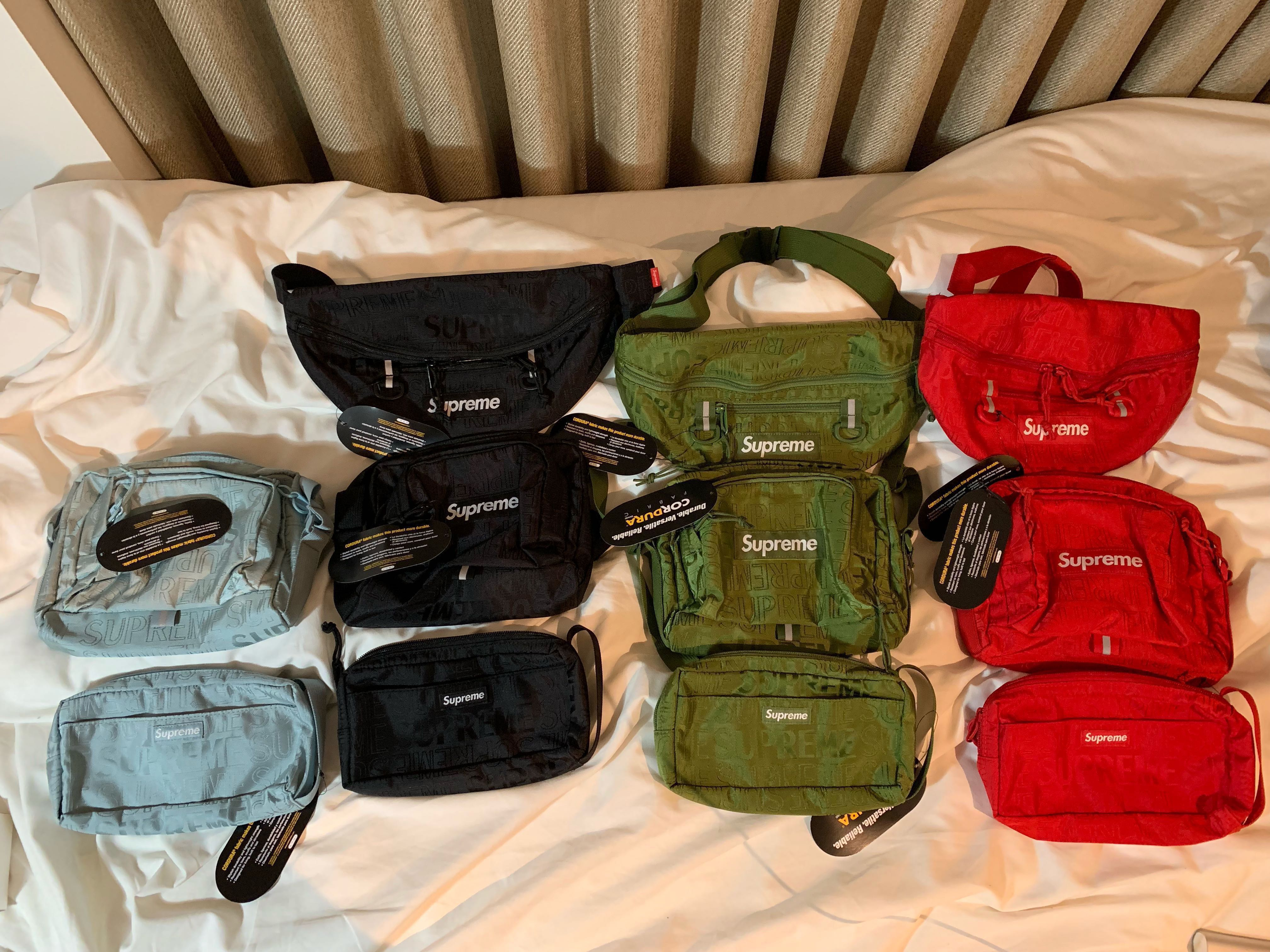 8c3a535c Supreme SS19 bags (stock on hand), Men's Fashion, Bags & Wallets, Sling Bags  on Carousell
