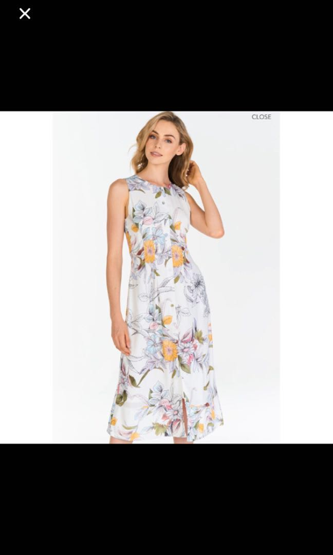 5a6ae446960 TCL Camryn Floral Printed Midi Dress