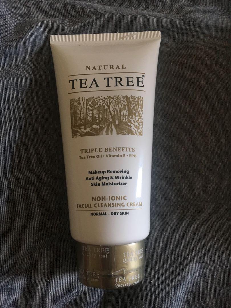 Tea tree cream cleanser