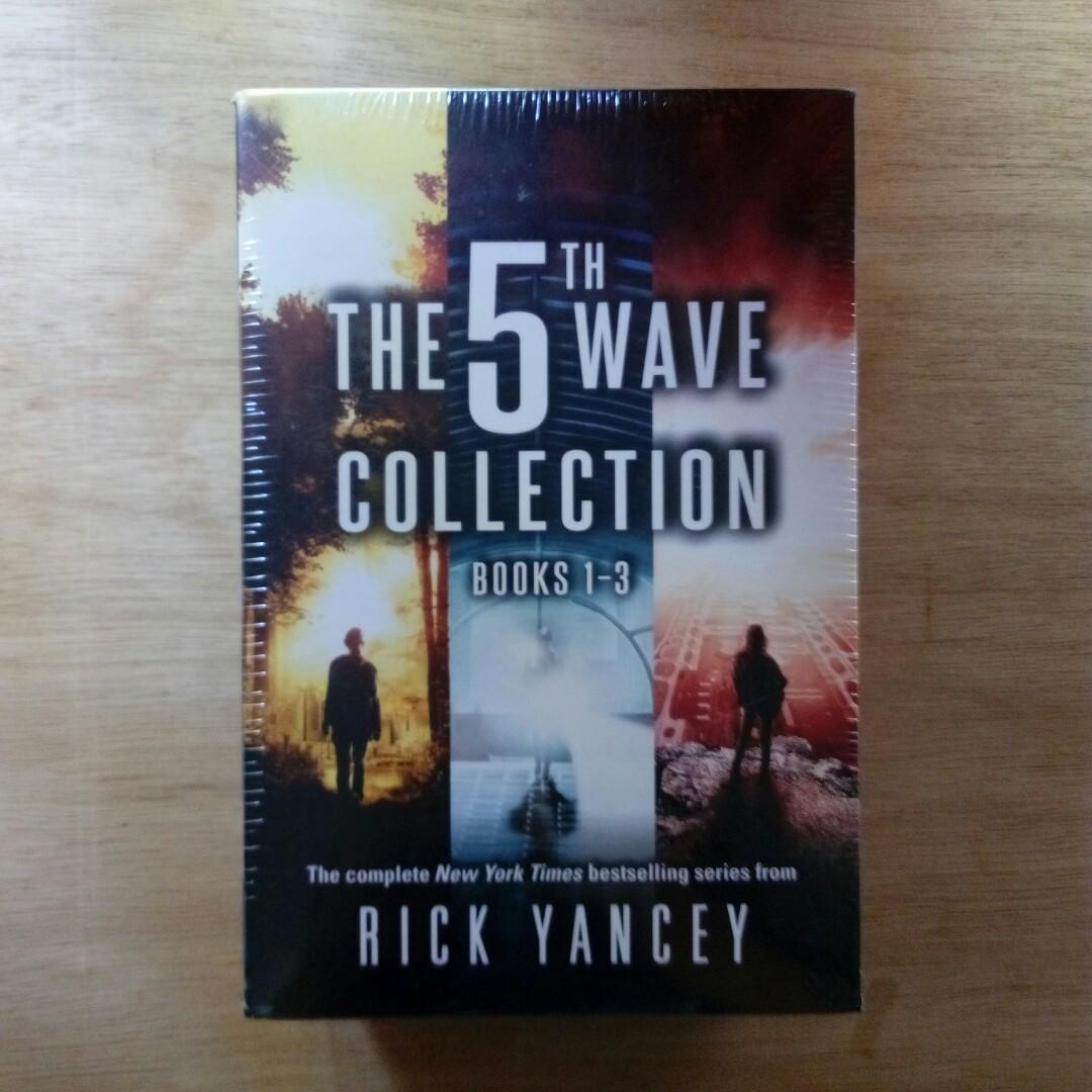 The 5th Wave Series Boxed Set by Rick Yancey on Carousell