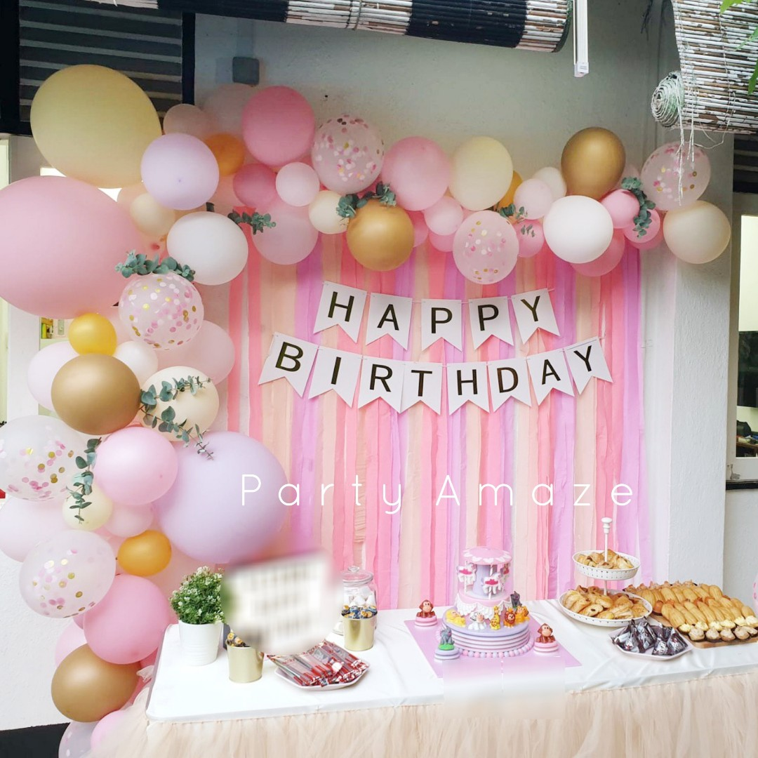 Theme Party Balloon Garland For Wedding Birthday Party Baby Shower