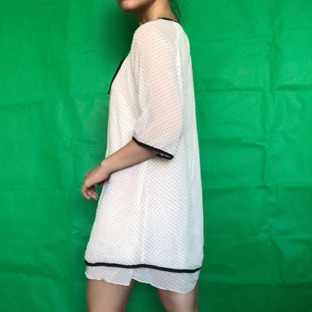 Tisha Polka Dress