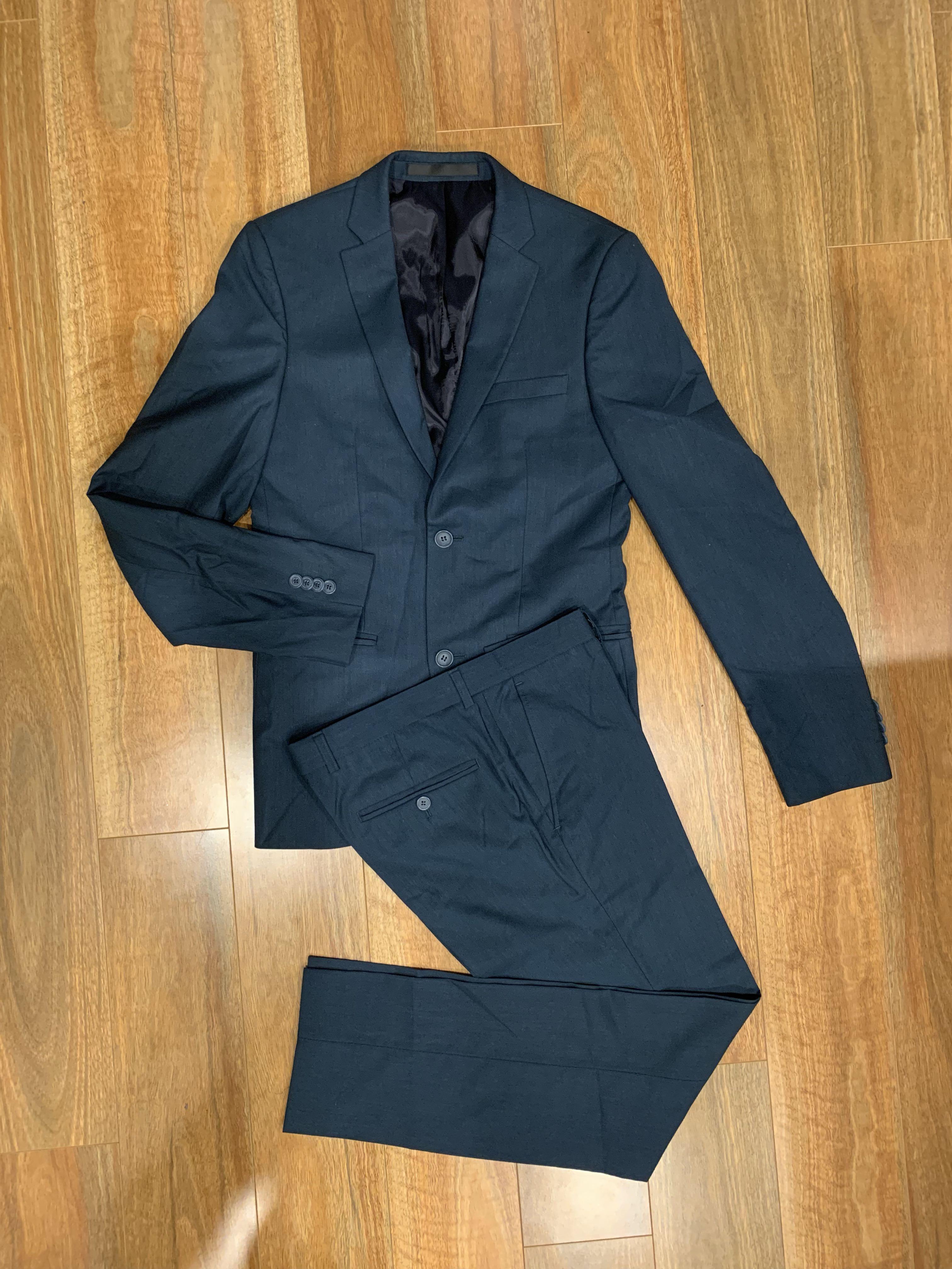 Topman Ultra Skinny Teal Suit