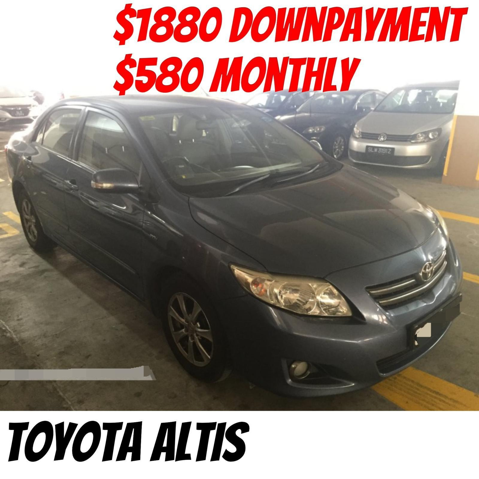 Toyota Altis Only 1880 Downpayment Full Loan Cars Cars For