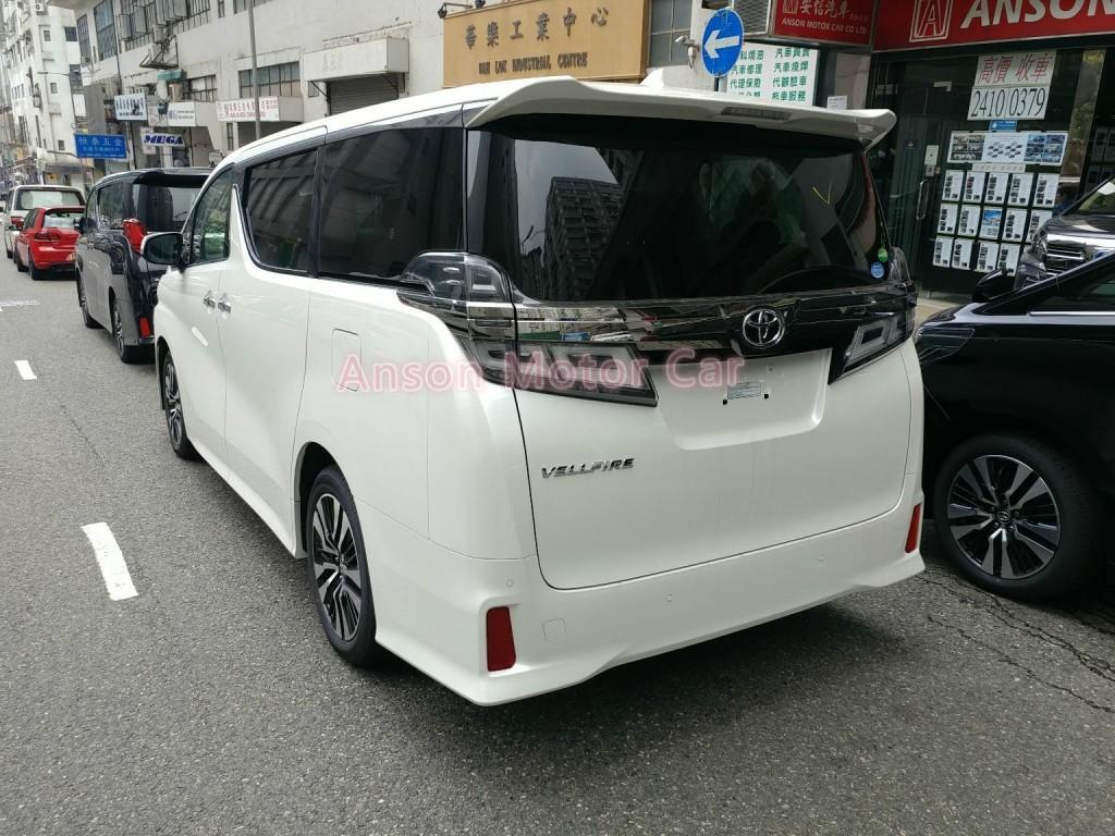 Toyota VELLFIRE 2019 FACELIFT 3.5 ZG