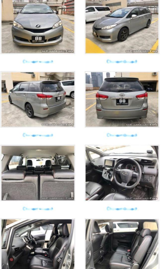 Toyota wish new facelift 1.8a cheapest!