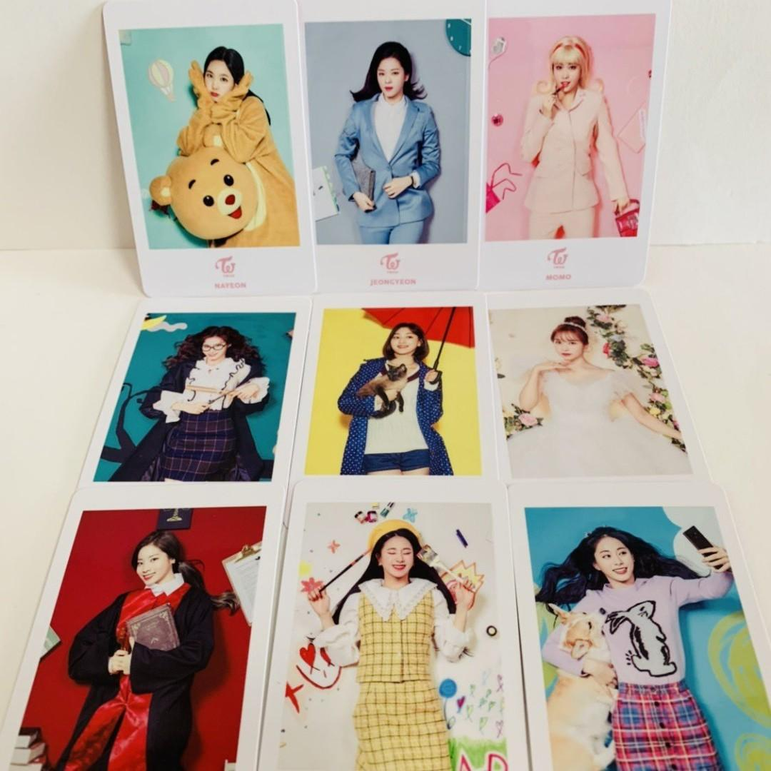TWICE DREAMDAY DOMETOUR MERCH OFFICIAL PHOTOCARD SET