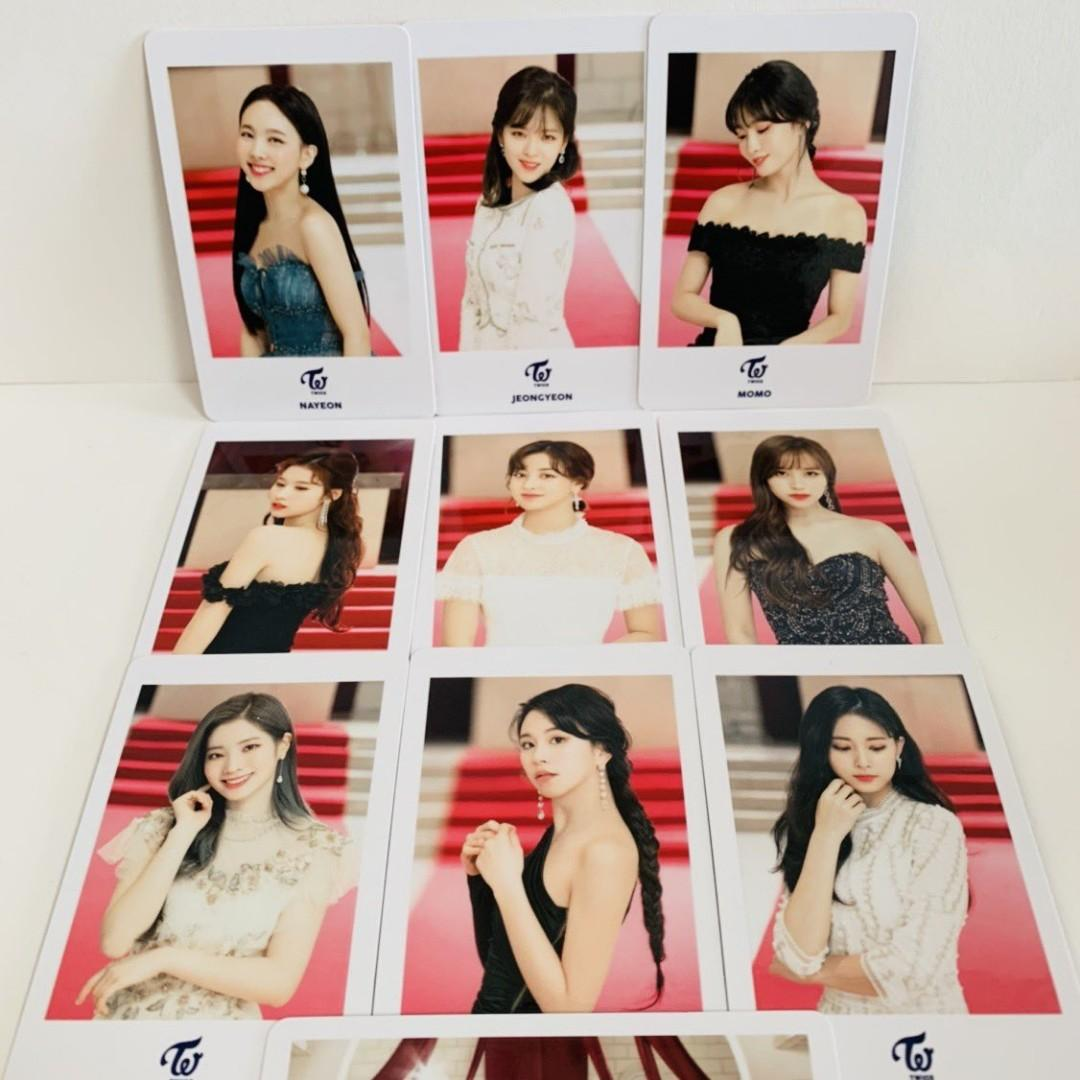 TWICE DREAMDAY DOMETOUR OFFICIAL MERCH PHOTOCARD SET