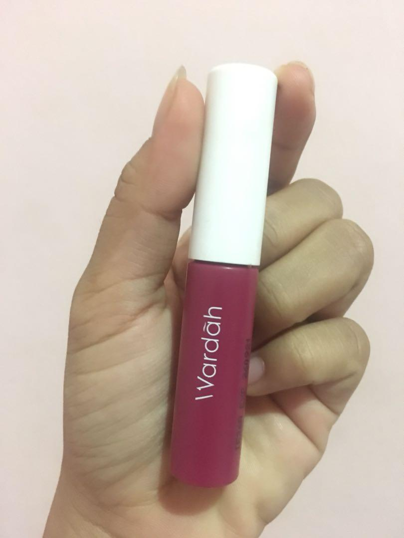 Wardah cheek and liptint shade 01 red, set, glow!