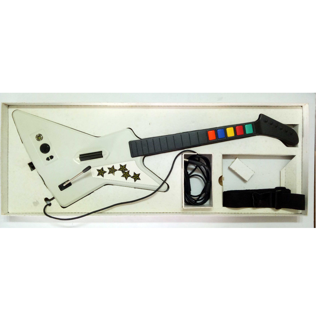 Xbox 360 Guitar Hero 2 Xplorer X-plorer Wired Controller WITH breakaway  cable