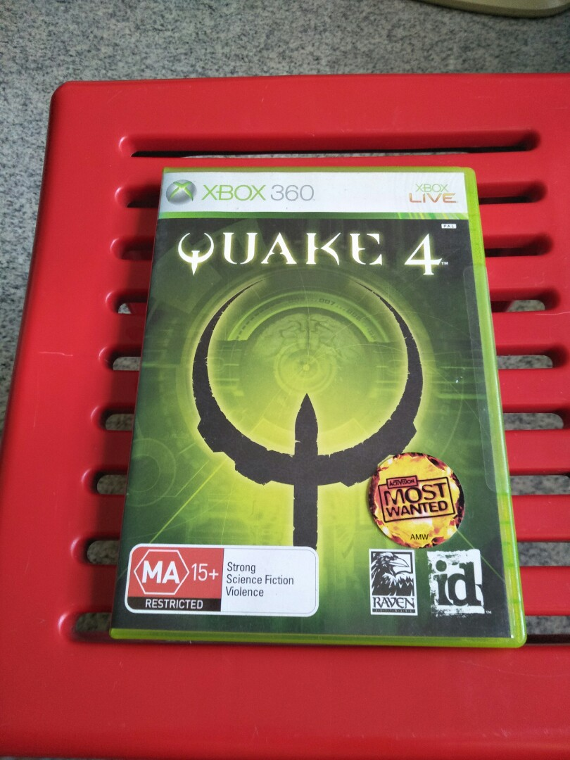 Xbox 360 Quake 4, Toys & Games, Video Gaming, Video Games on