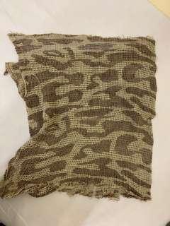 War game 迷彩 scarf 方
