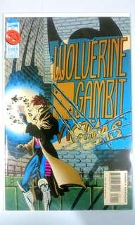 Wolverine Gambit Victims #1 Special Enhance Card Stock Cover