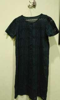 Paket Chrochet dress top