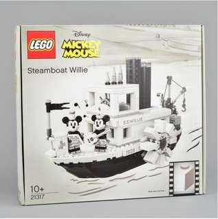 MISB Lego 21317 Ideas Steamboat Willie