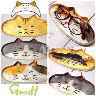 ☆預購☆日本貓貓眼鏡碟