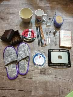 Giving away household items