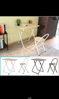 [二手]折疊桌椅組