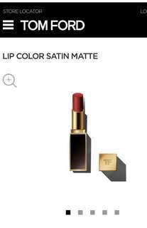 """Tom Ford Satin Matte Lipstick in """"LA Woman"""""""